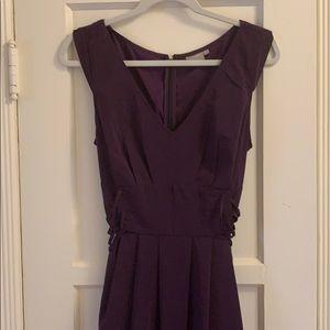 eShakti purple dress size 16